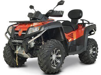 Квадроцикл CF MOTO X8 EFI. Подробные характеристики...