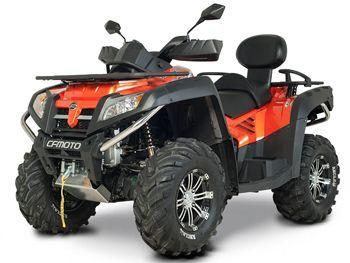 Квадроцикл CF MOTO X8 EPS. Подробные характеристики...