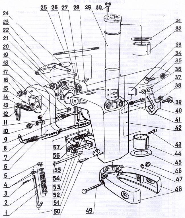 регулировка реверса на лодочном моторе