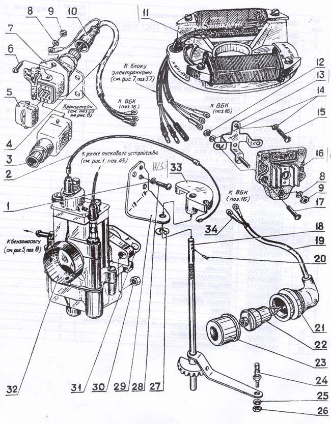 Установка и регулировка зажигания лодочного мотора Нептун 23