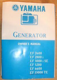 Подделка электрогенератора Yamaha руководство пользователя