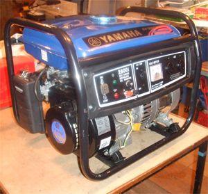 Подделка электрогенератора Yamaha EF 2800 I. Увеличить изображение...