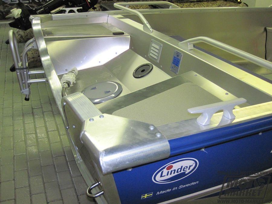 Алюминиевая лодка linder arkip 460