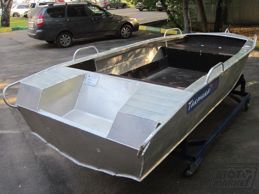 лодки алюминиевые тактика 370 цены