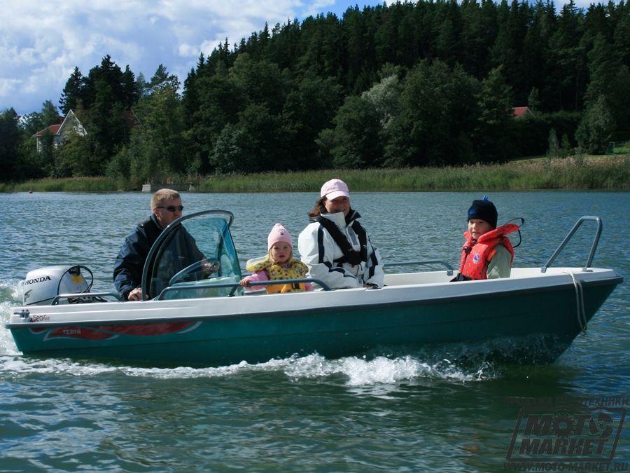 моторная лодка terhi sea fun c купить
