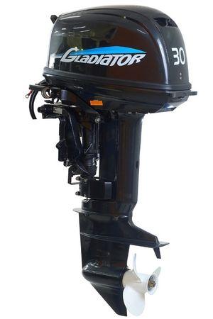 Увеличить фото лодочного мотора Gladiator G30F.