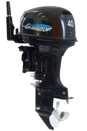 Увеличить фото лодочного мотора Gladiator G40FE-T.