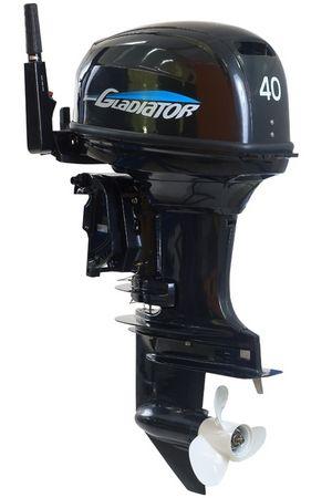 Увеличить фото лодочного мотора Gladiator G40FE.