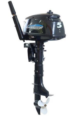 Увеличить фото лодочного мотора Gladiator G5F.