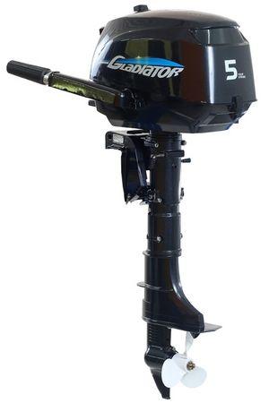 Увеличить фото лодочного мотора Gladiator GF5HS.