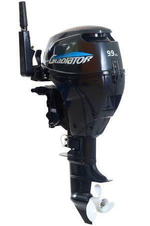 Увеличить фото лодочного мотора Gladiator GF9.9HS.