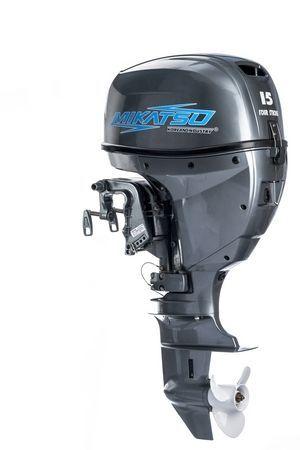 Увеличить фото лодочного мотора Mikatsu MF15FES.