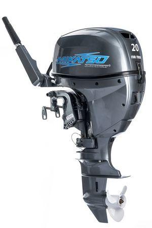 Увеличить фото лодочного мотора Mikatsu MF20FHS.