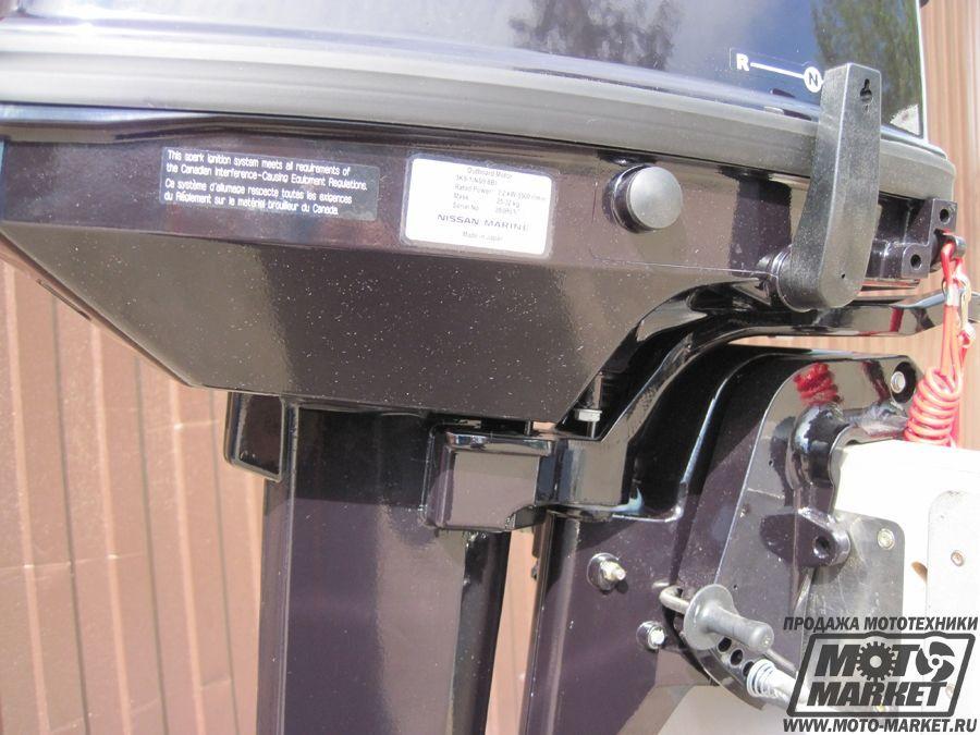как раздушить лодочный мотор nissan marine