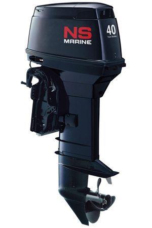 Увеличить фото лодочного мотора Nissan Marine NS 40D2 EPTO2.
