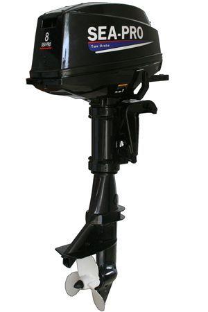 Увеличить фото лодочного мотора Sea-Pro Т 8S.