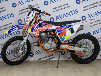 Мотоцикл Авантис Эндуро 250. Подробные характеристики...