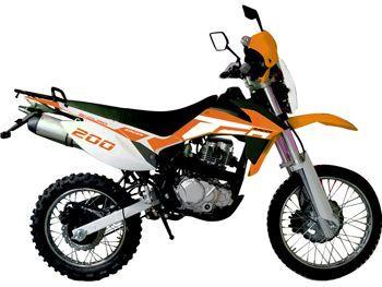Мотоцикл RACER RC200GY-C2 ENDURO.Увеличить фото.