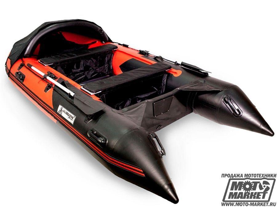 надувная лодка гладиатор 370 цена