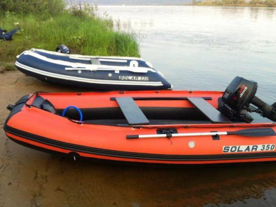 пвх лодки моторные солар