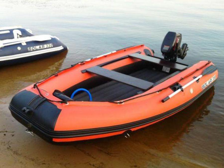 лодки пвх под мотор с надувным компас
