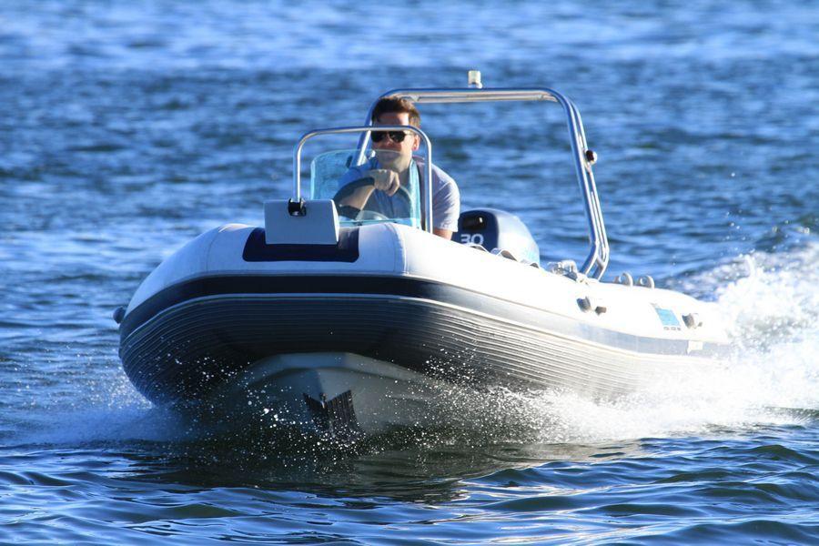 использование лодок риб
