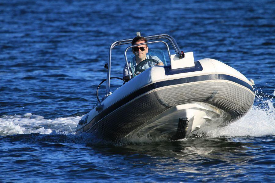 лодка меркури риб 420
