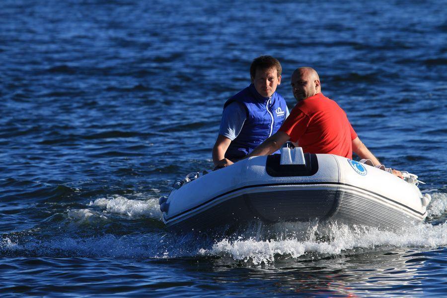 особенность надувных лодках