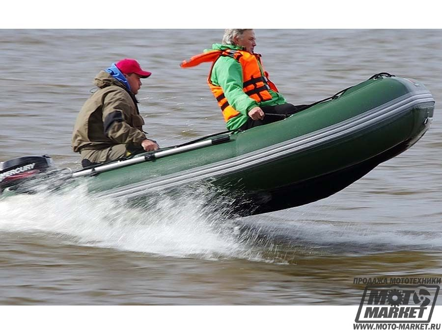 Серия надувных моторно-гребных лодок для длительных автономных переходов