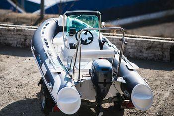 Увеличить фото ПВХ лодки Stormline RIB Extra 400.