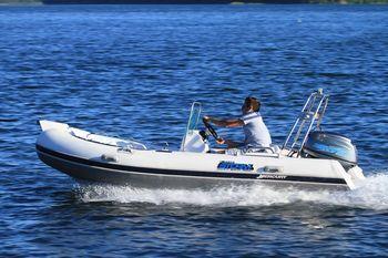 Увеличить фото ПВХ лодки Stormline RIB Luxe 420.