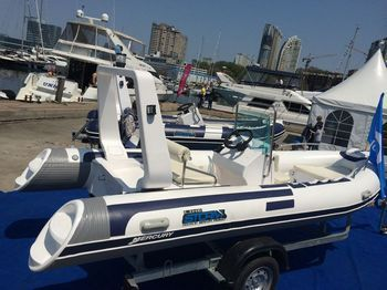 Увеличить фото ПВХ лодки Stormline RIB River Drive Extra 500.