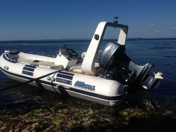 Увеличить фото ПВХ лодки Stormline RIB River Drive Luxe 500.