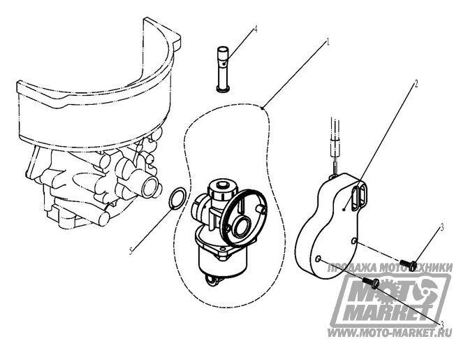 подсос воздуха лодочного мотора
