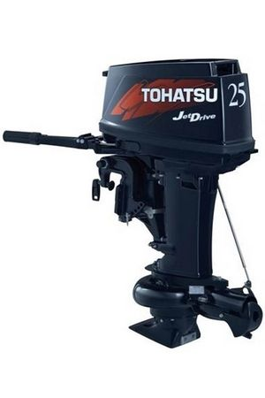 Увеличить фото лодочного мотора Tohatsu M25H JET.